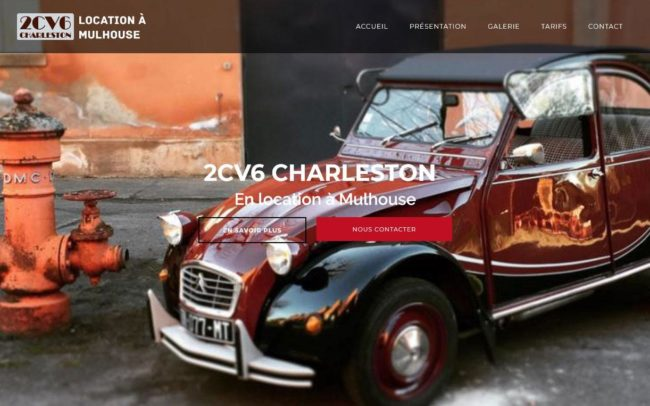 Site web de location 2CV Mulhouse