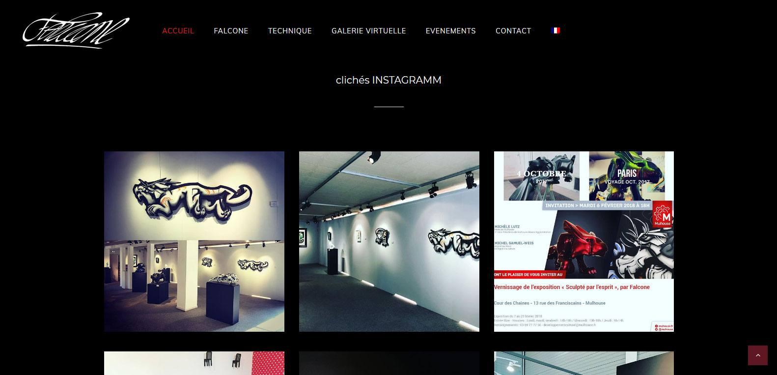 Retrouvez falcone sur instagram. Client et artiste Karedess, agence web situé à Mulhouse