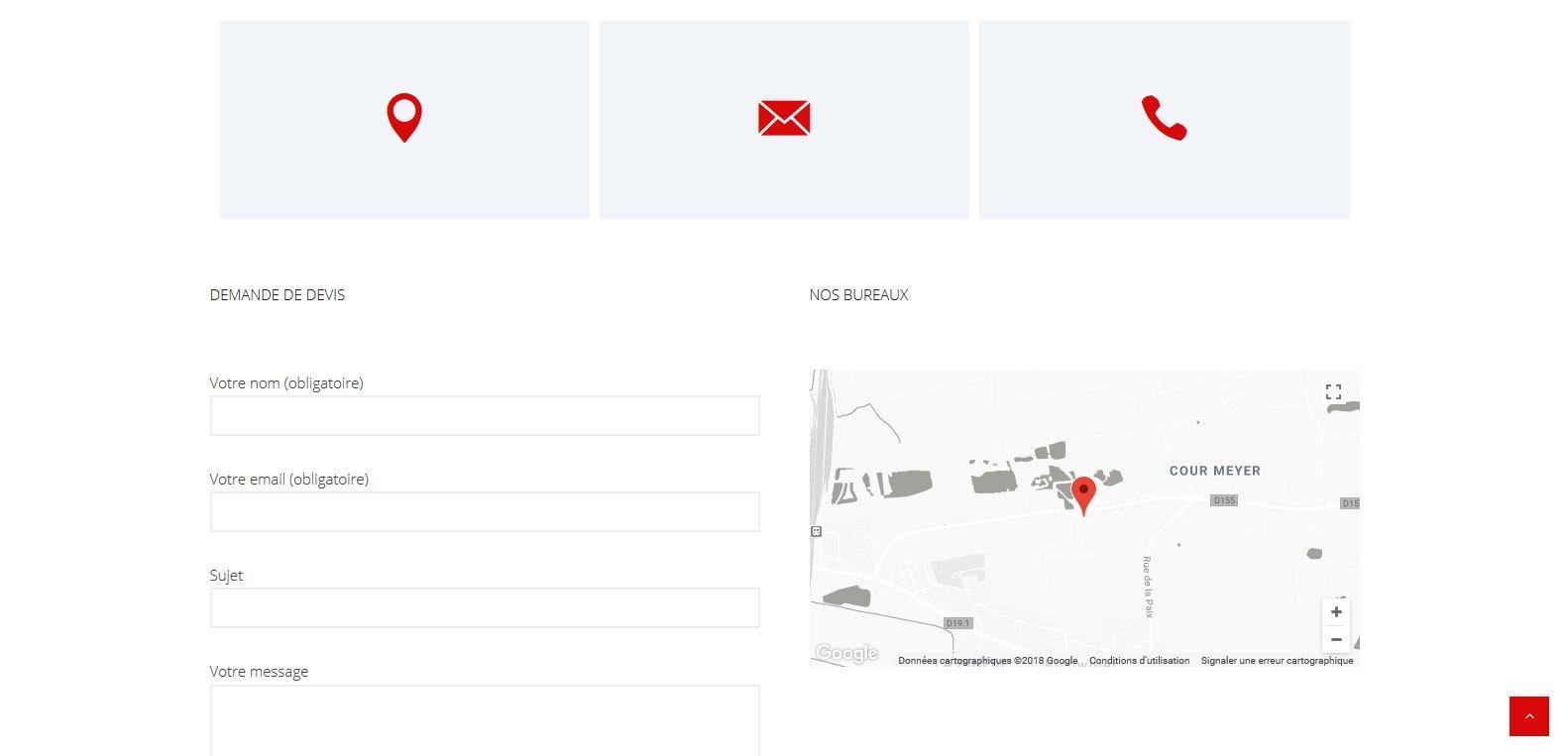 Contactez la menuiserie schuller. Un client qui à fait confiance à Karedess agency, agence web depuis 2006 à Mulhouse