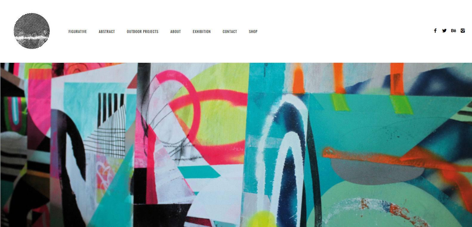 Nicolas Blind, artiste et client Karedess, agence web situé à Mulhouse