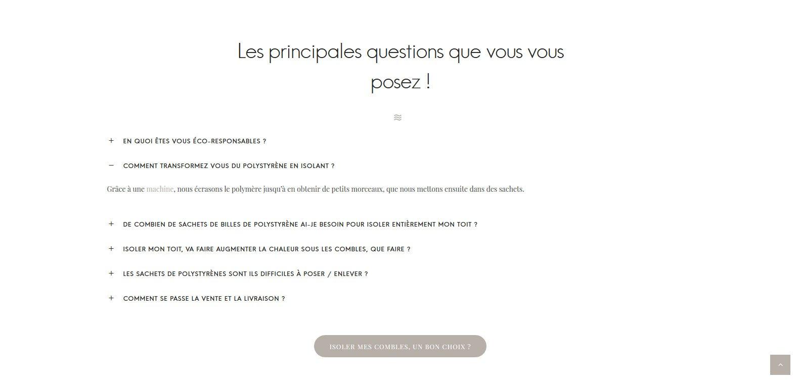 FAQ d'isolation guyane, client Karedess, agence web situé à mulhouse