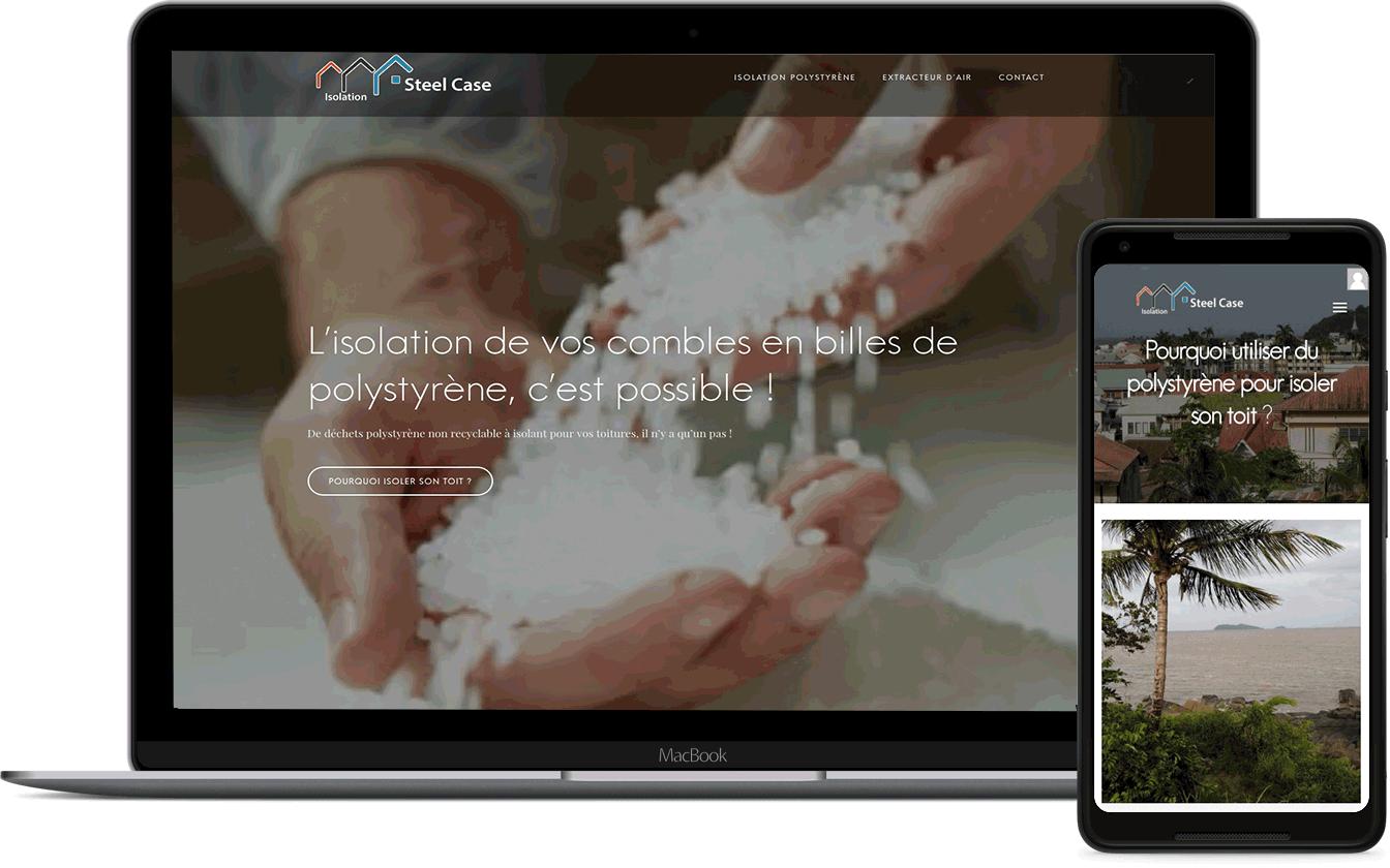 Isolation Guyane, site client de Karedess agence web sur Mulhouse