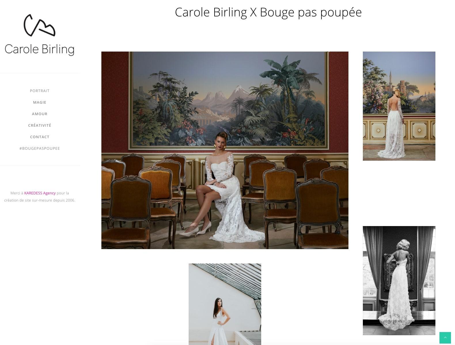 Photos mariage de Carole Birling , cliente de l'agence web à Mulhouse, Karedess agency