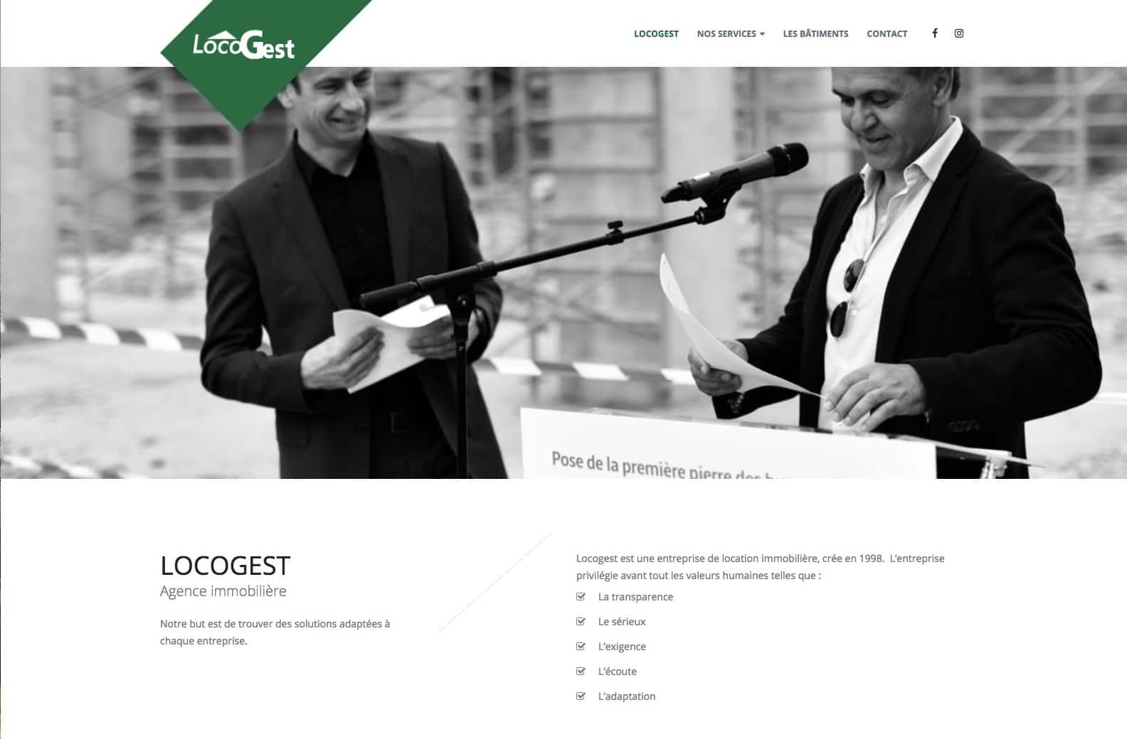 Locogest, agence immobilière à Mulhouse et client de l'agence web Karedess