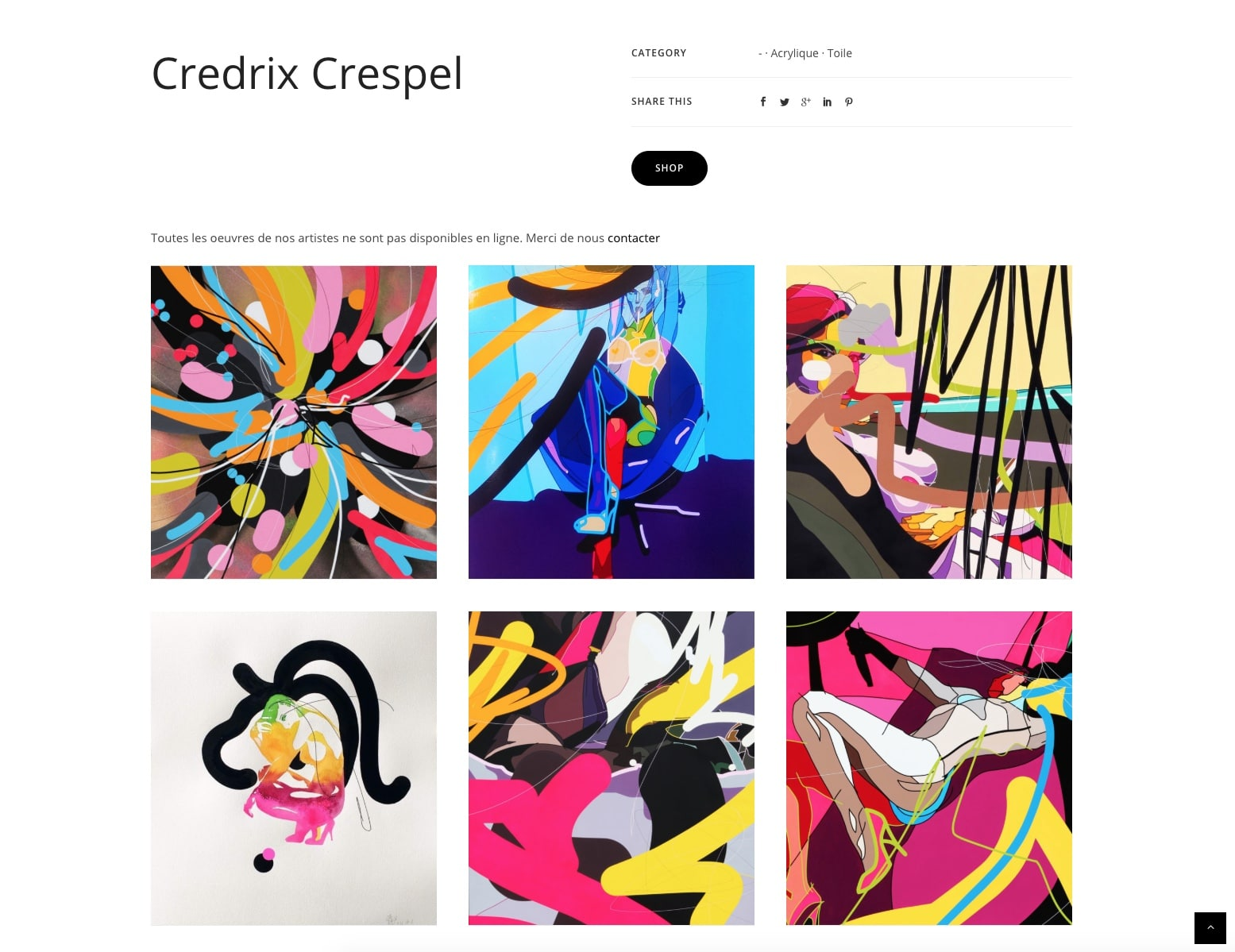 Page produit, Orlinda, Credrix Crespel, cliente Karedess experte wordpress sur Mulhouse