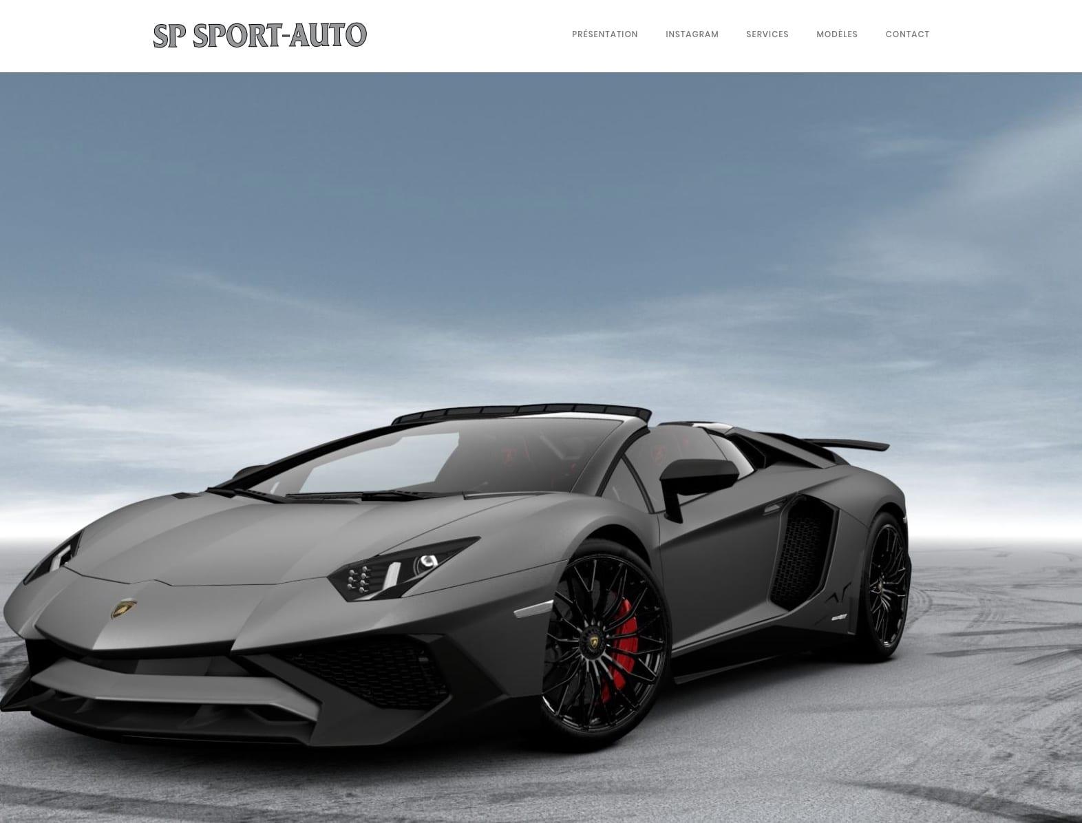 SP SPORT AUTO, client karedess, agence web Mulhouse