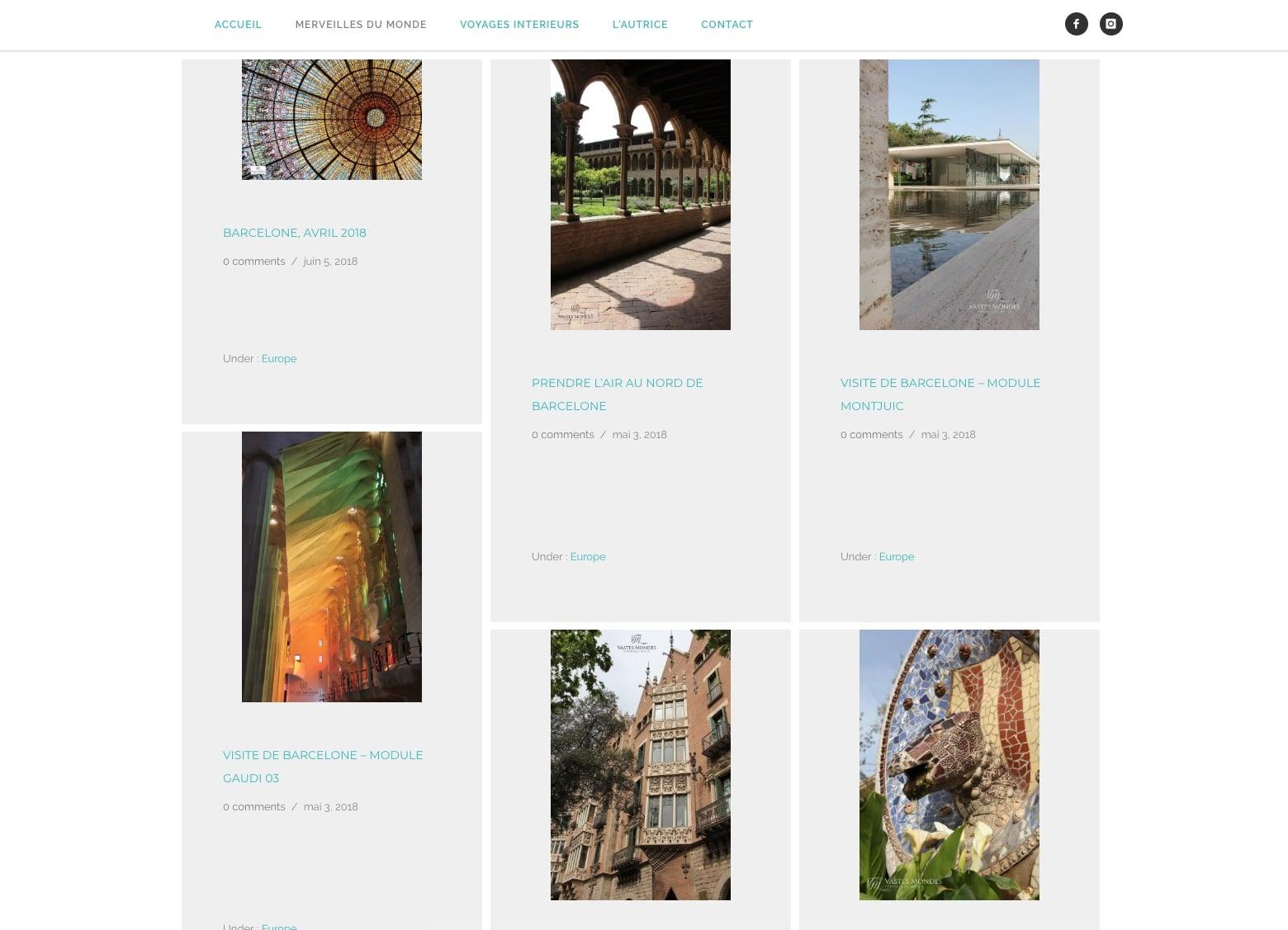 Les Merveilles du monde présenté par vastes mondes, un voyage mené par Karedess agence web depuis 2006 sur Mulhouse
