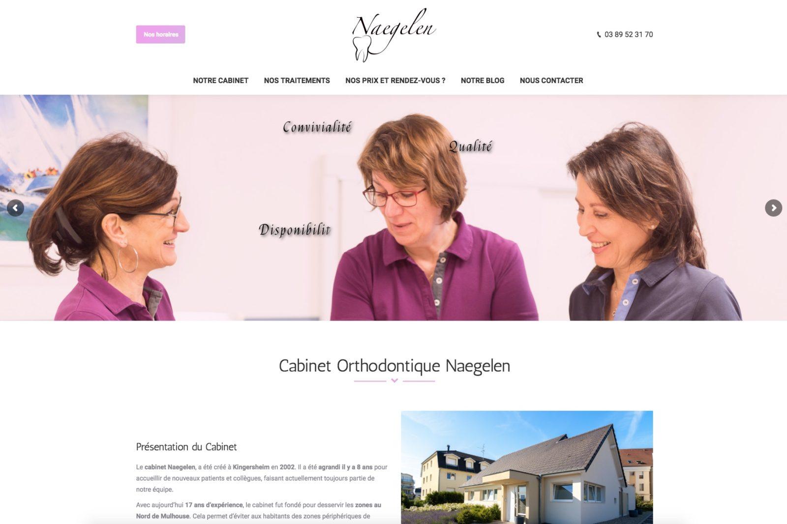 Un orthodontiste situé à Mulhouse, un cabinet orthodontique qui à fait confiance à l'agence web Karedess, situé à Mulhouse