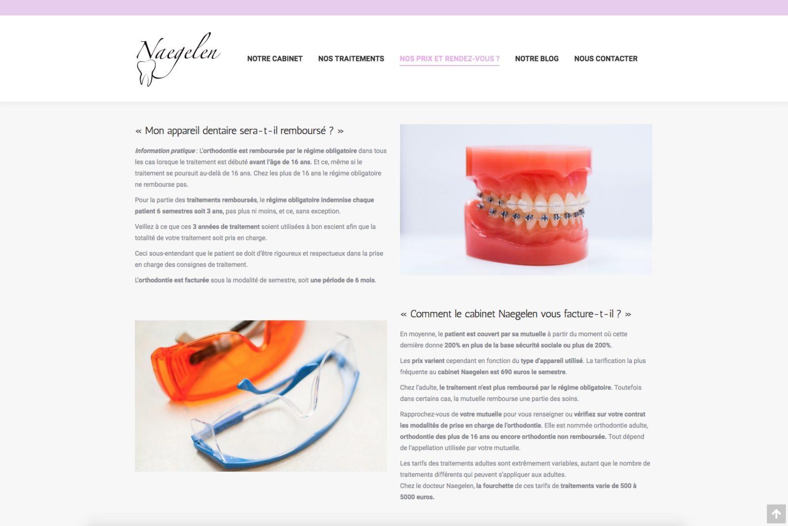 A chaque patient sont orthodontie - cabinet orthodontique de Mulhouse qui à fait confiance à l'agence Karedess