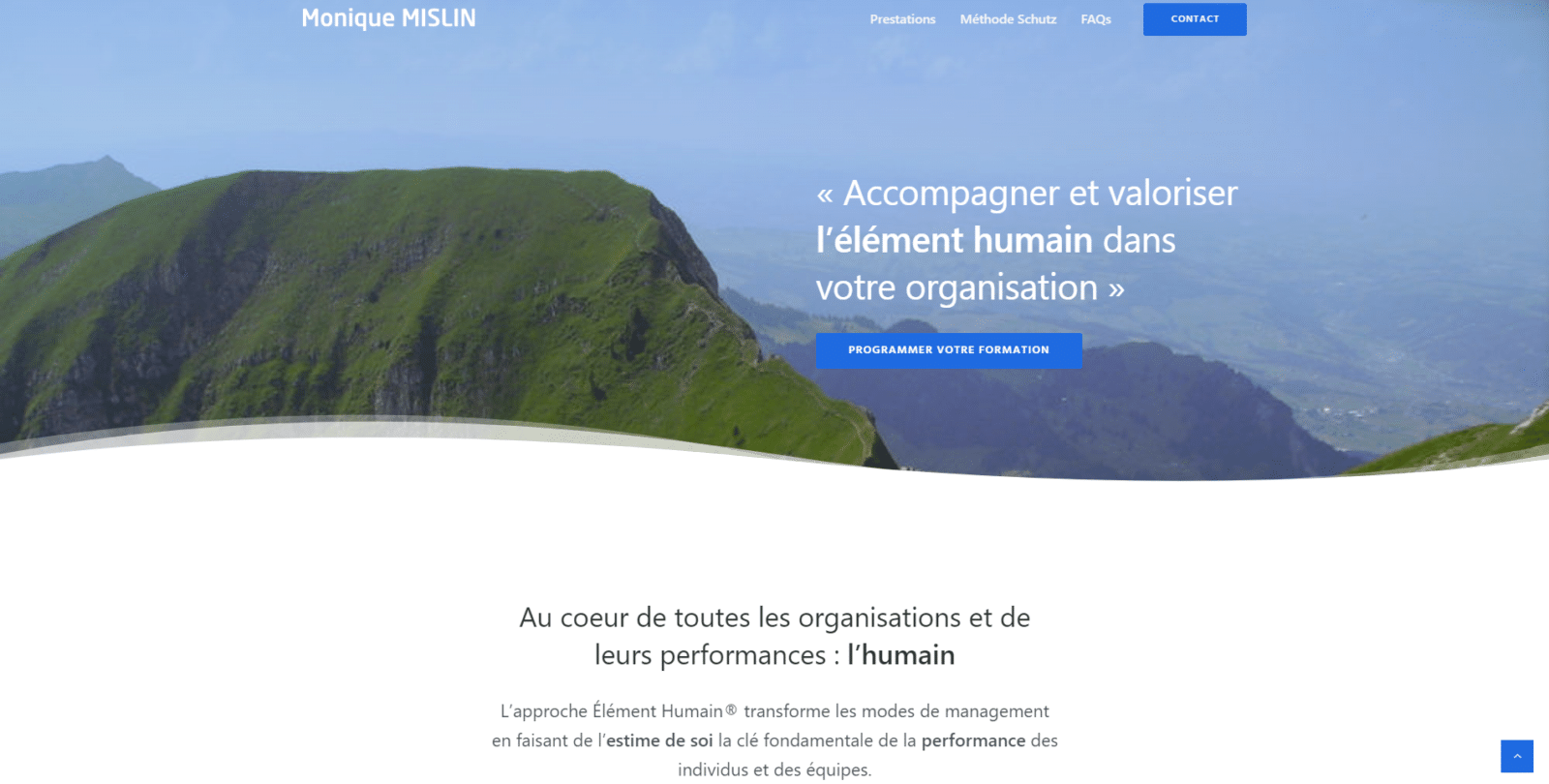 Monique Mislin est une cliente de l'agence web Karedess, agence web situé à Mulhouse