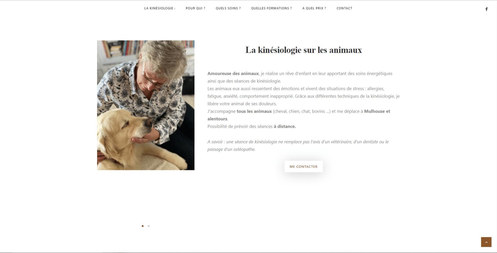 Sylvie Lienert est une cliente de l'agence web Karedess, agence web situé à Mulhouse
