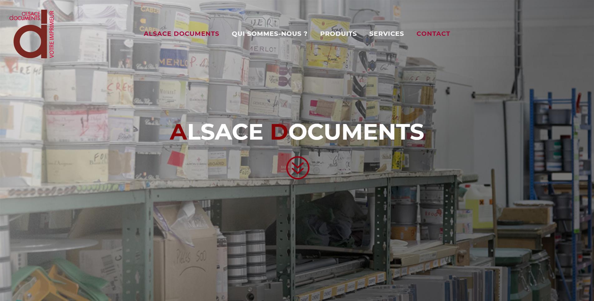 alsace documents est un client de l'agence web Karedess, agence web situé à Mulhouse