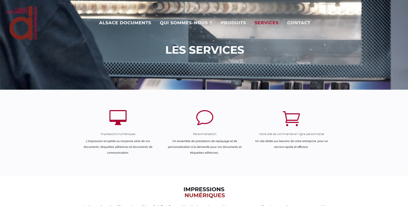 alsace documents est une cliente de l'agence web Karedess, agence web situé à Mulhouse