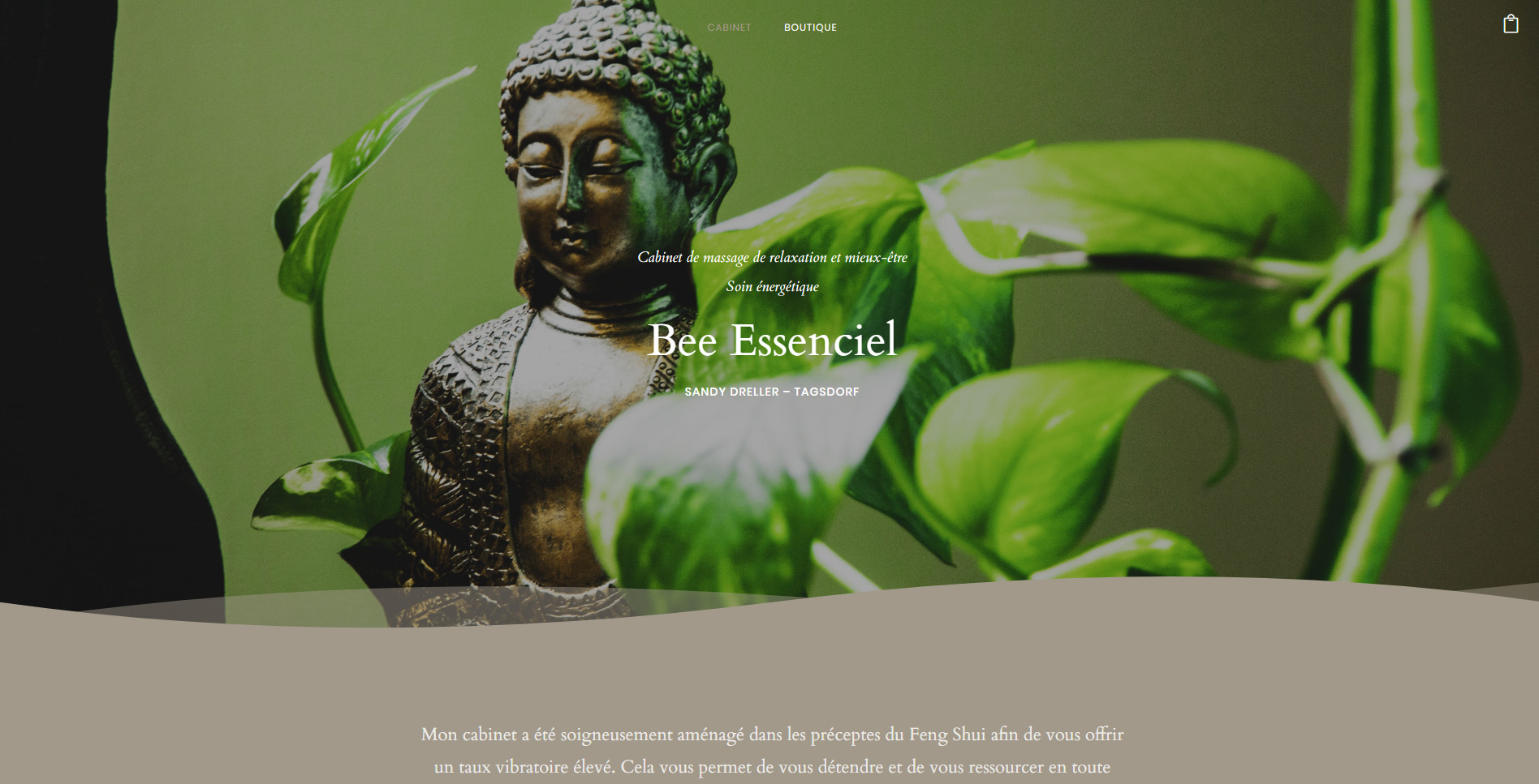 Bee Essenciel est une cliente de l'agence web Karedess, agence web situé à Mulhouse
