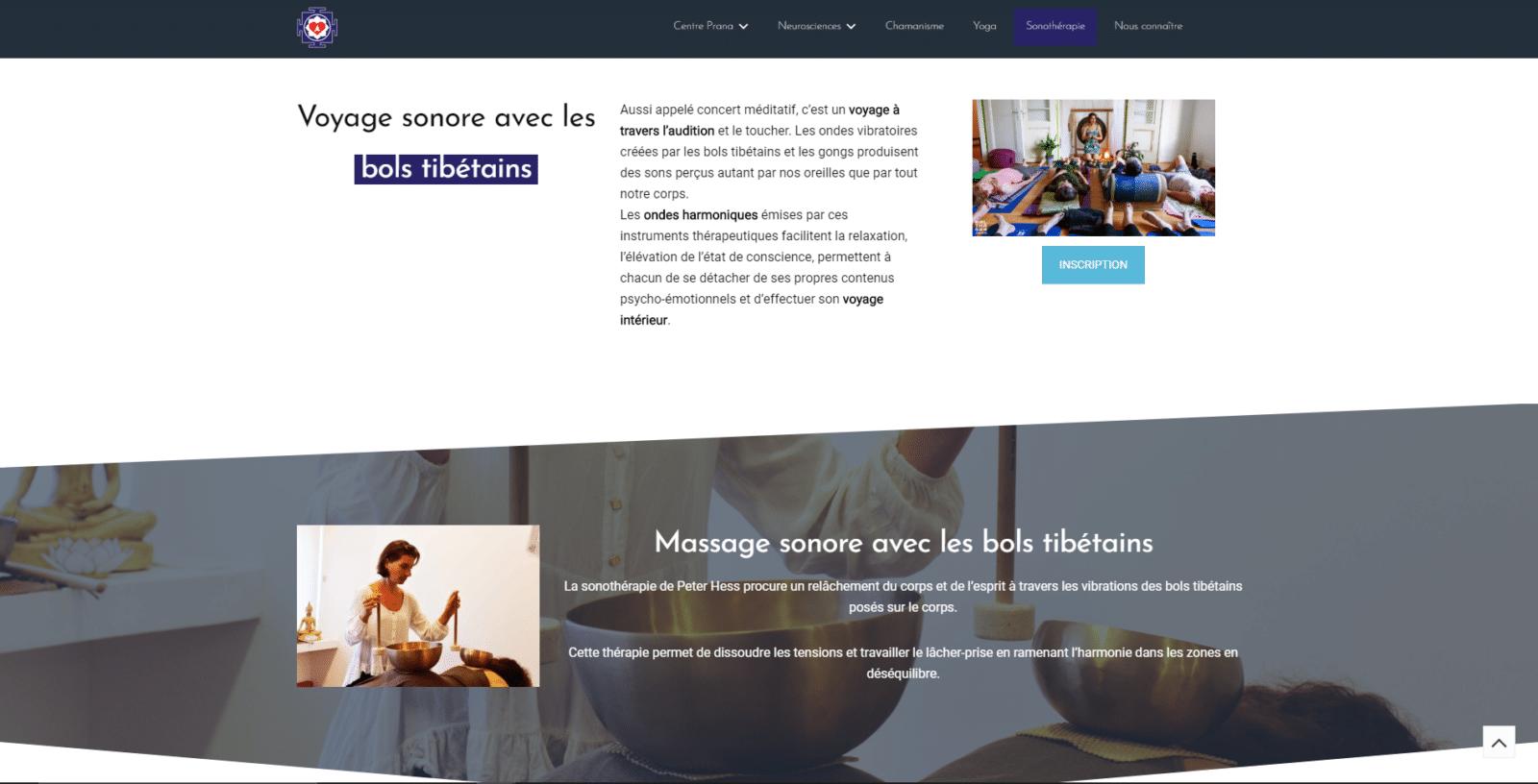 Centreprana Strasbourg est un client de l'agence web Karedess, agence web situé à Mulhouse