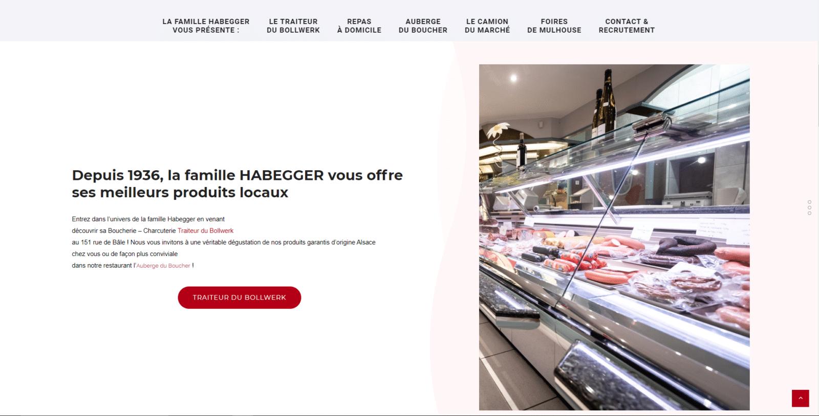 Habegger.alsace est un client de l'agence web Karedess, agence web situé à Mulhouse