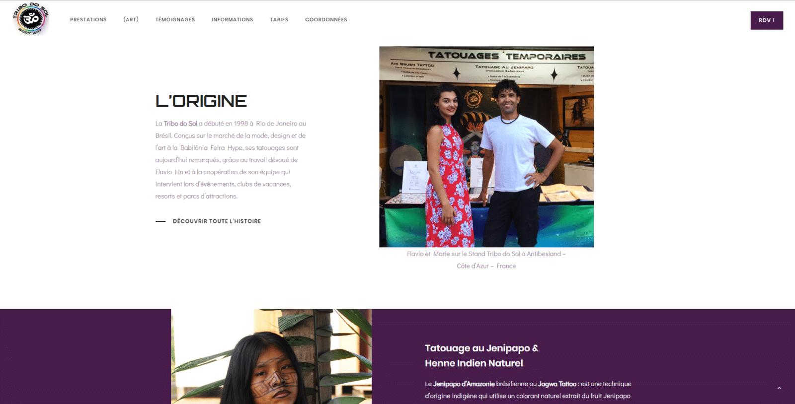 Tribo do sol est un client de l'agence web Karedess, agence web situé à Mulhouse