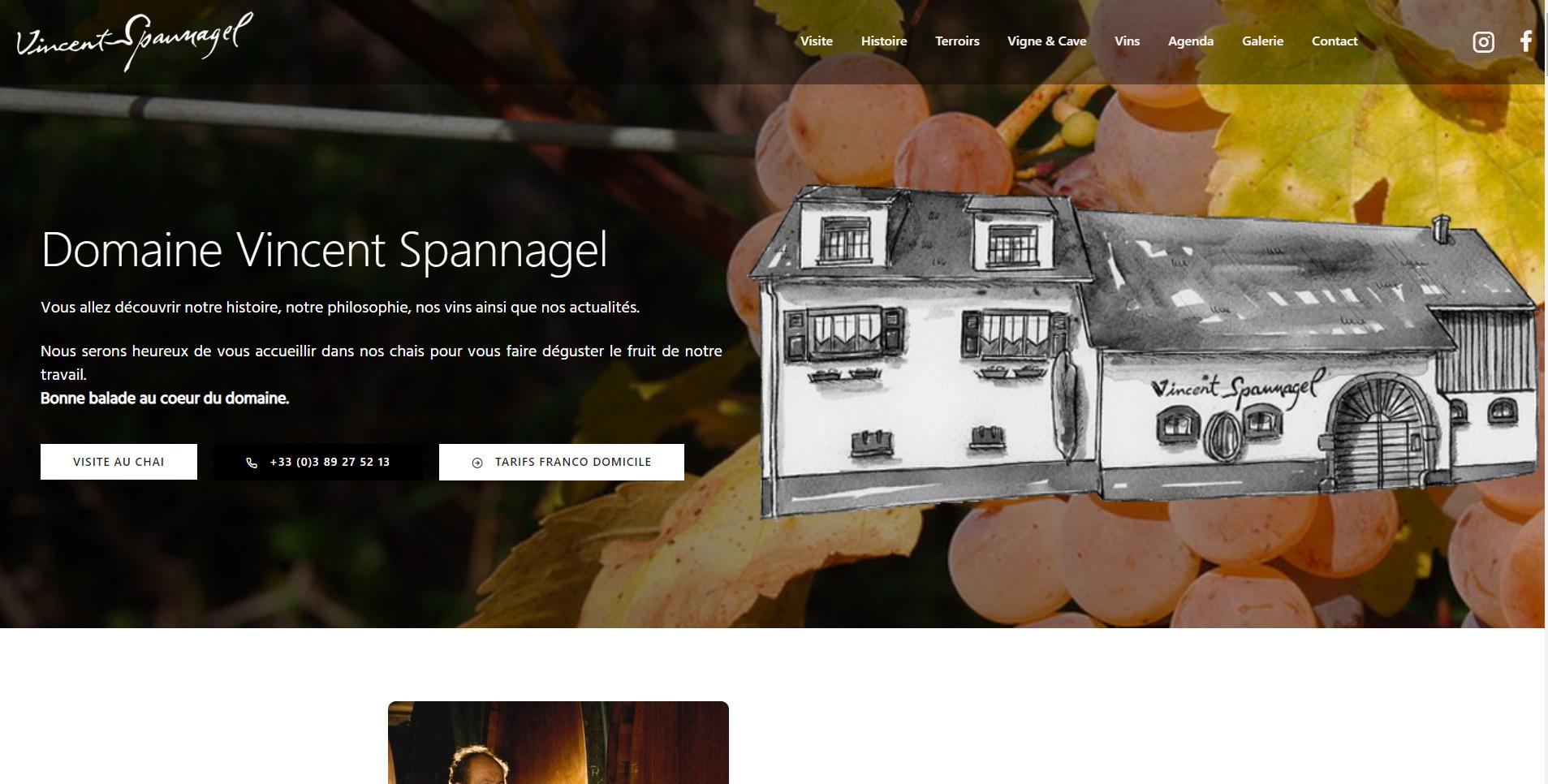 Vincent Spannagel est un client de l'agence web Karedess, agence web situé à Mulhouse