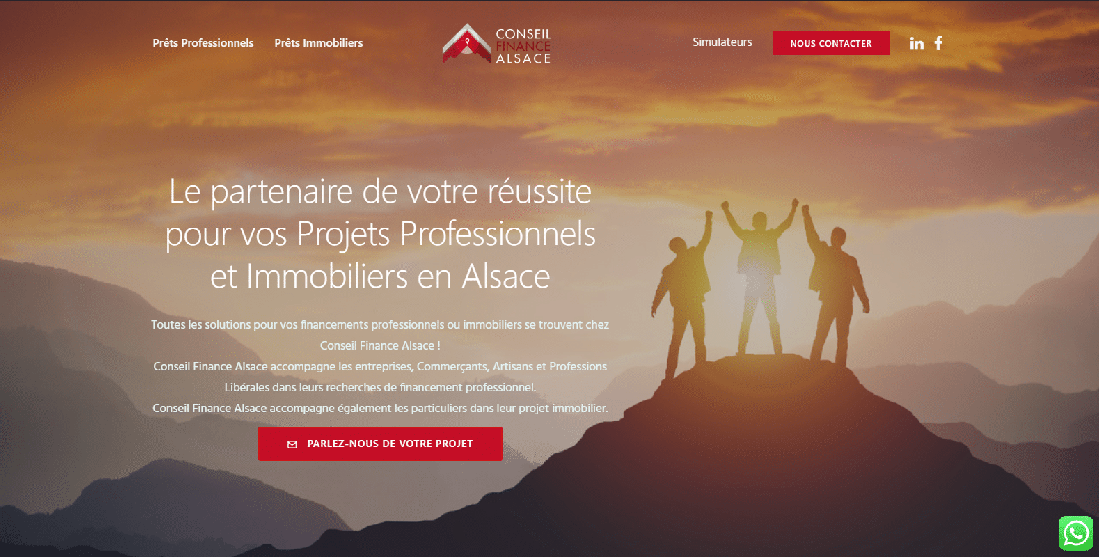 Conseil finance alsace, traitements efficaces et naturels, client Karedess, une agence web situé à Mulhouse